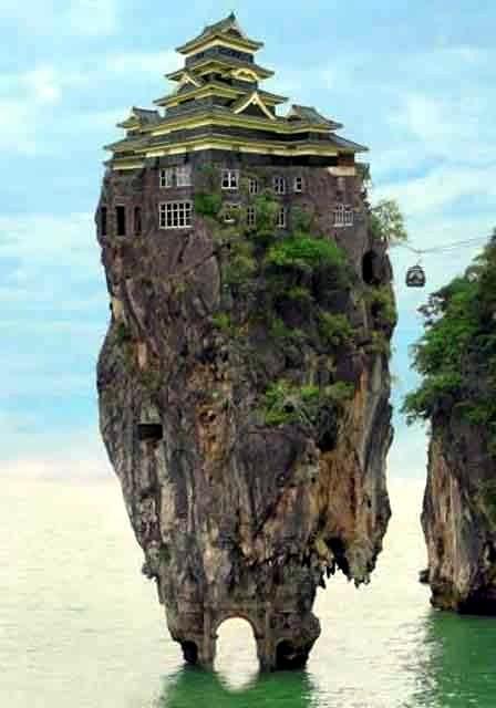 Amazing rock